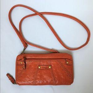 Fossil Crossbody Wallet Bag